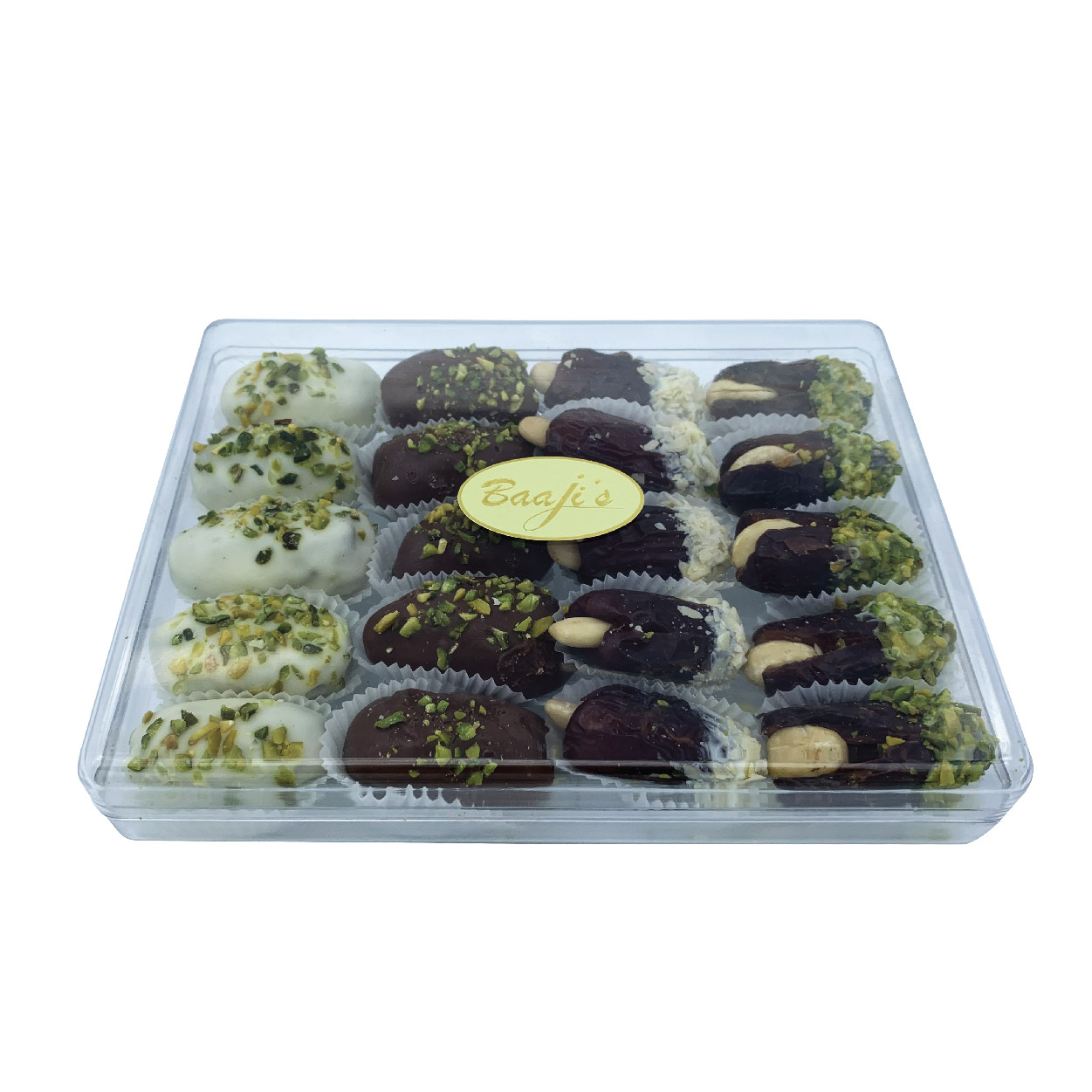Assorted Chocolate Coated Dates