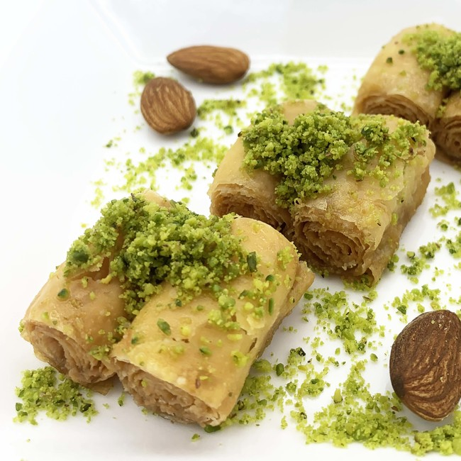 Honey Baklava Almond
