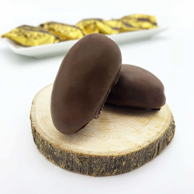Individually Wrapped Chocolate Coated Dates