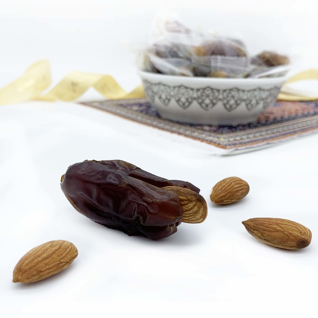 Individually Wrapped Khidri with Almond