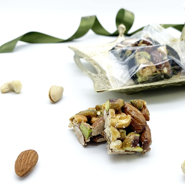 Individually Wrapped Mixed Nuts Honey Sweet