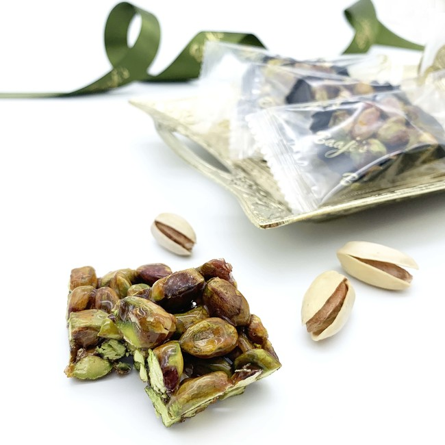 Individually Wrapped Pistachio Honey Sweet