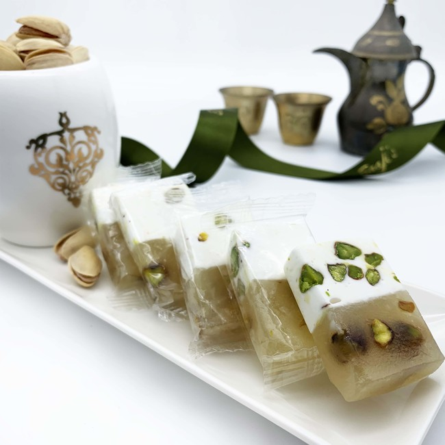 Pistachio Malban and Nougat Cocktail
