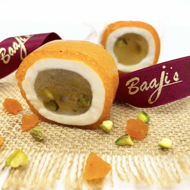 Pistachio Malban Nougat Roll with Apricot